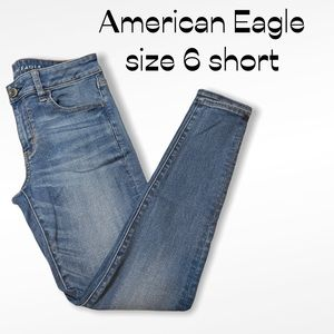 American Eagle   Next Level Stretch Jeggings 6P